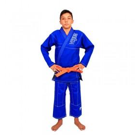 Kimono Jiu Jitsu Venum Competition Brasil Azul Infantil