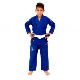 Kimono Jiu Jitsu Vulkan Neo Ultra Light Azul Infantil