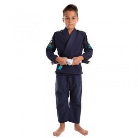 Kimono Jiu Jitsu Vulkan Vkn Pro Azul Marinho Infantil