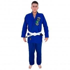 Kimono Jiu Jitsu Yama Plus Azul Royal Adulto Unissex