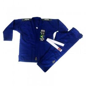 Kimono Jiu Jitsu Yama Plus Azul Royal Infantil