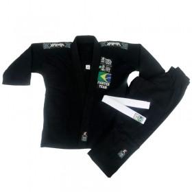 Kimono Jiu Jitsu Yama Plus Preto Infantil