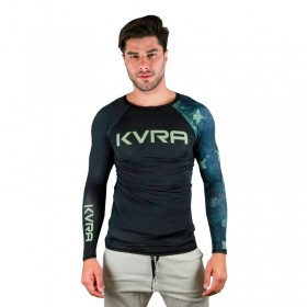Rash Guard Kvra Amy Glory Preta Unissex