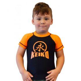 Rash Guard Lycra Keiko Infantil Laranja