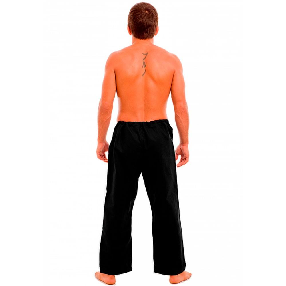 Calca Jiu Jitsu Atama Tradicional Preta Adulto Unissex