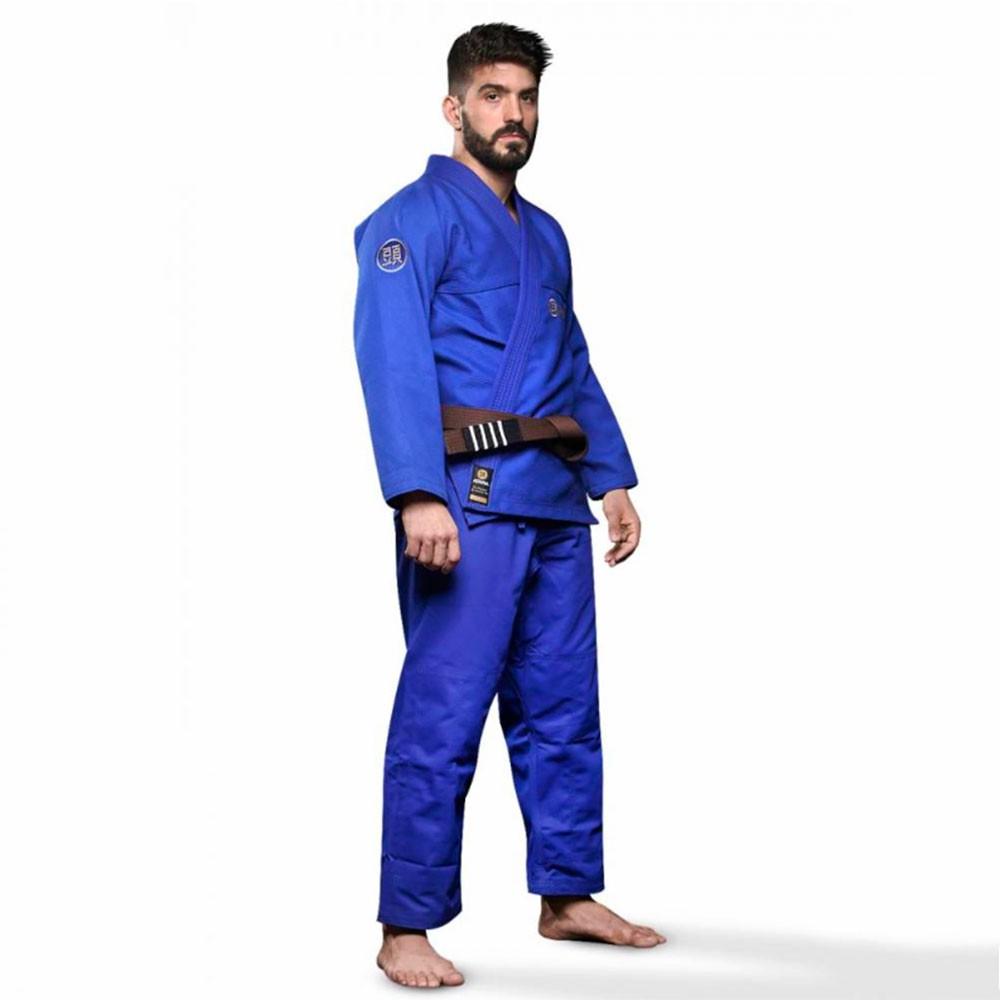Kimono Jiu Jitsu Atama Classic Azul Adulto Unissex