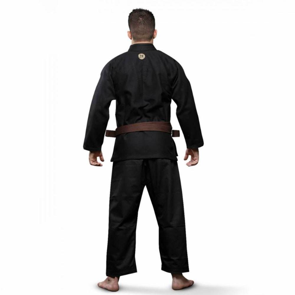 Kimono Jiu Jitsu Atama Classic Preto Adulto Unissex