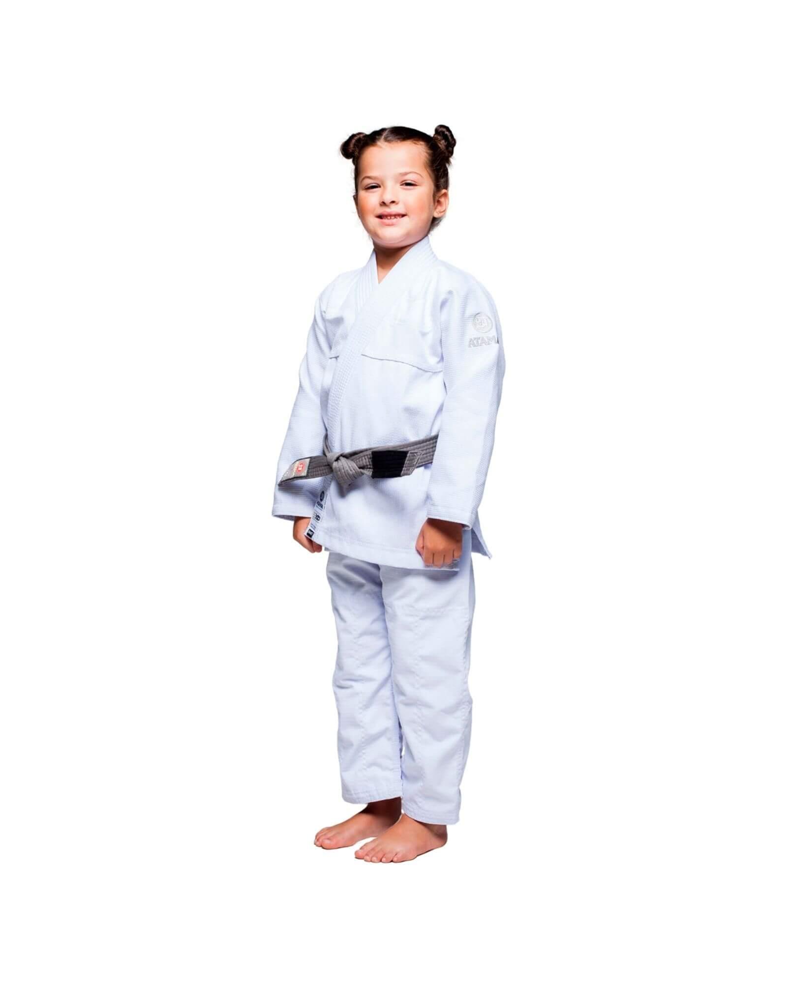 Kimono Jiu Jitsu Atama Infinity Collab Infantil Branco- Unissex