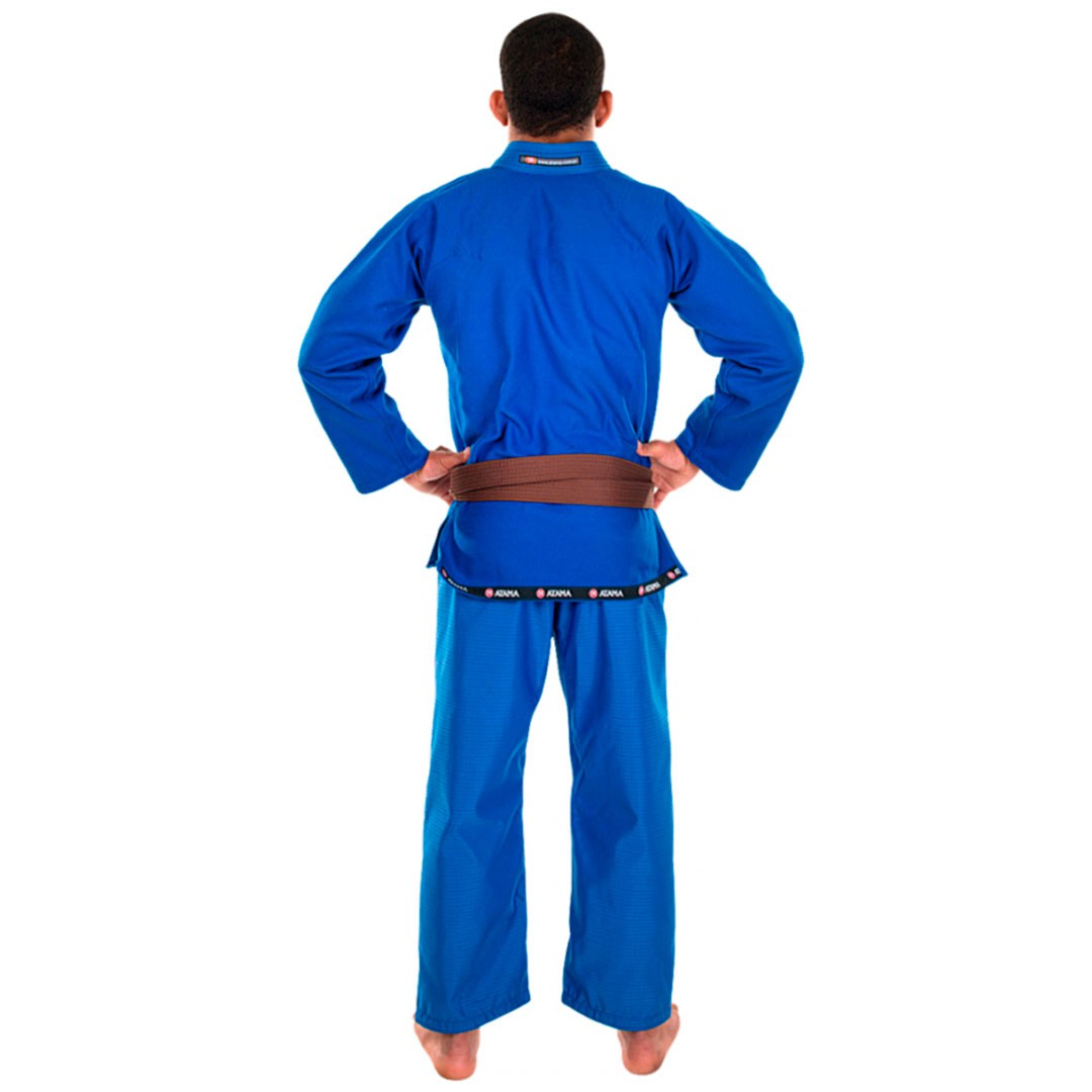 Kimono Jiu Jitsu Atama Mundial Azul Adulto Unissex