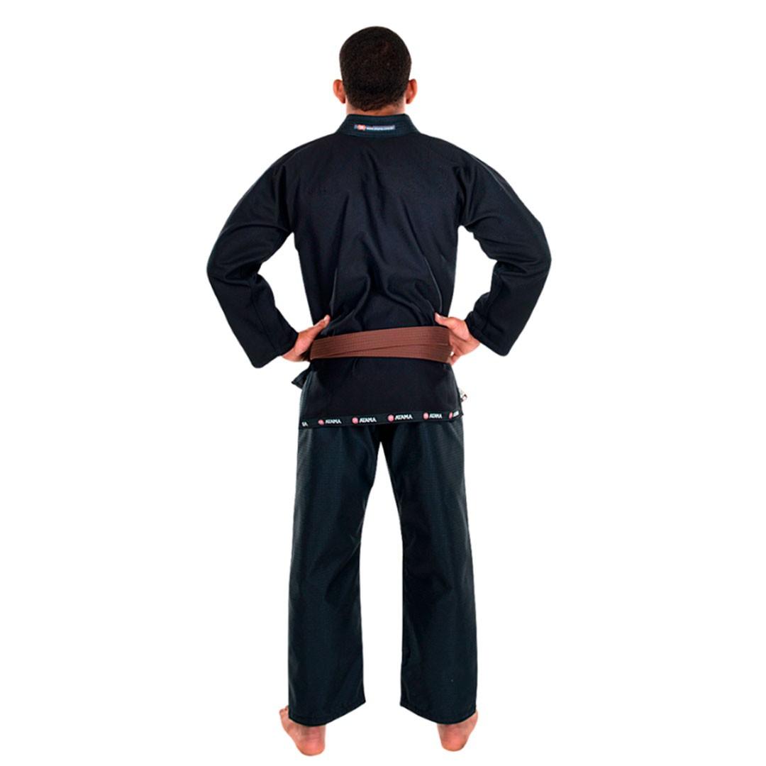 Kimono  Jiu Jitsu Atama Mundial Preto Adulto Unissex