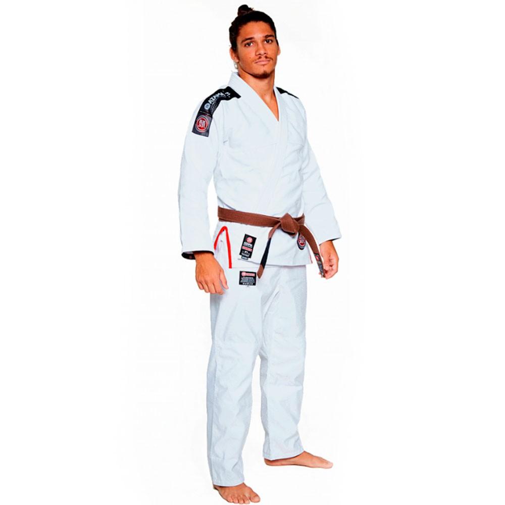 Kimono Jiu Jitsu Atama Ultra Light 2.0 Branco Adulto Unissex