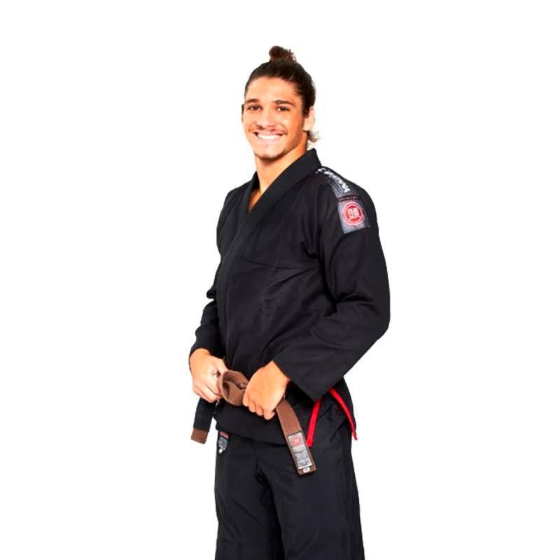 Kimono  Jiu Jitsu Atama Ultra Light 2.0 Preto Adulto Unissex