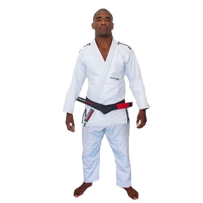 Kimono Jiu Jitsu Brazil Combat Elite V4 Branco Adulto Unissex