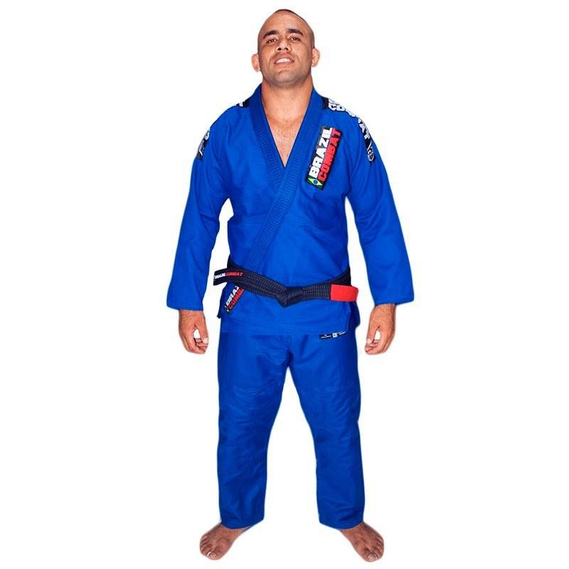 Kimono Jiu Jitsu Brazil Combat Xtra-Lite Azul Unissex