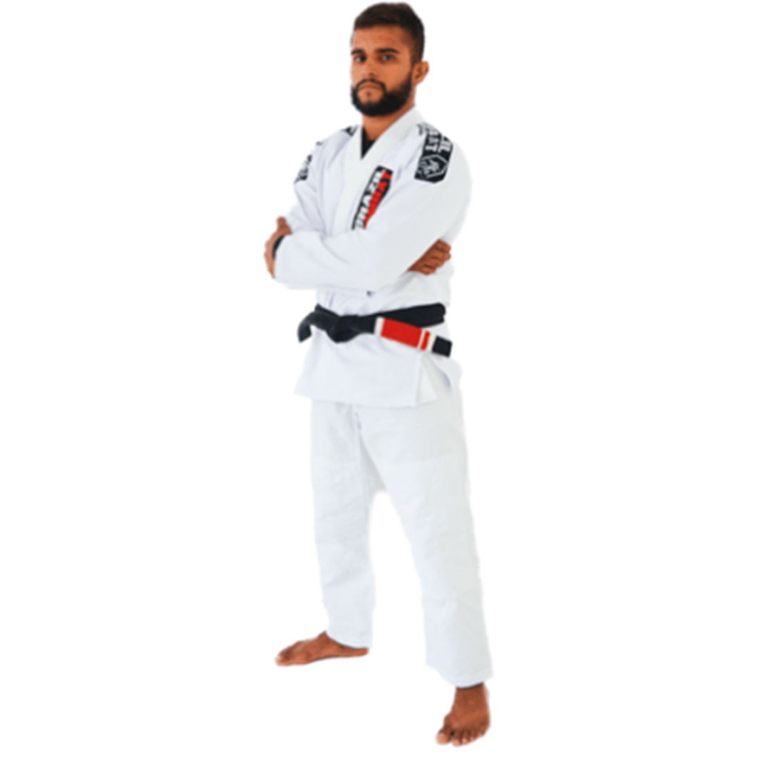 Kimono Jiu Jitsu Brazil Combat Xtra-Lite Branco Unissex