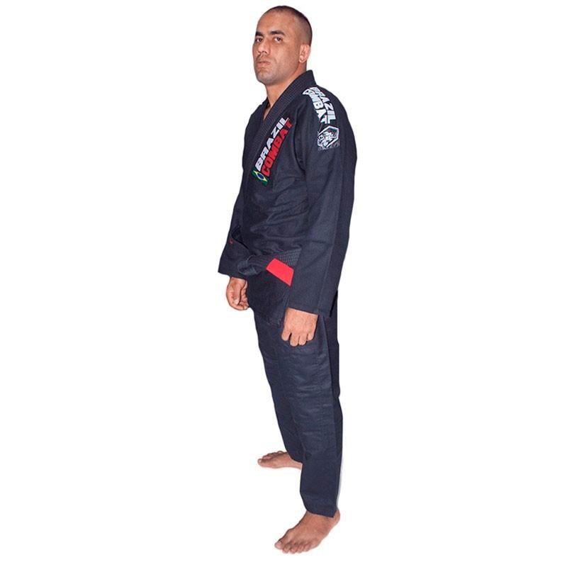 Kimono Jiu Jitsu Brazil Combat Xtra-Lite Preto Unissex