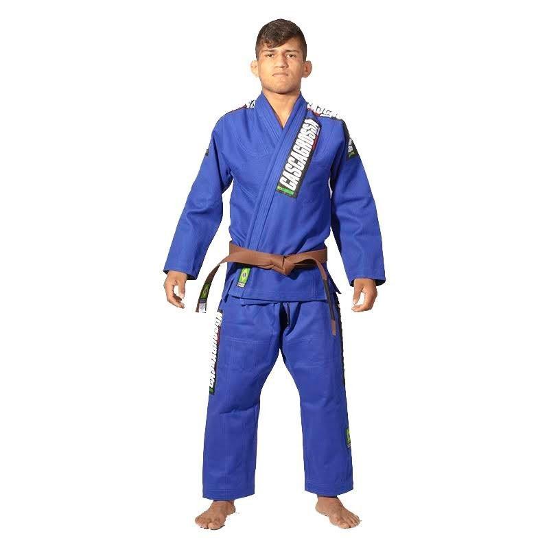 Kimono Jiu Jitsu Cascagrossa CgBjj Azul Royal Adulto Unissex