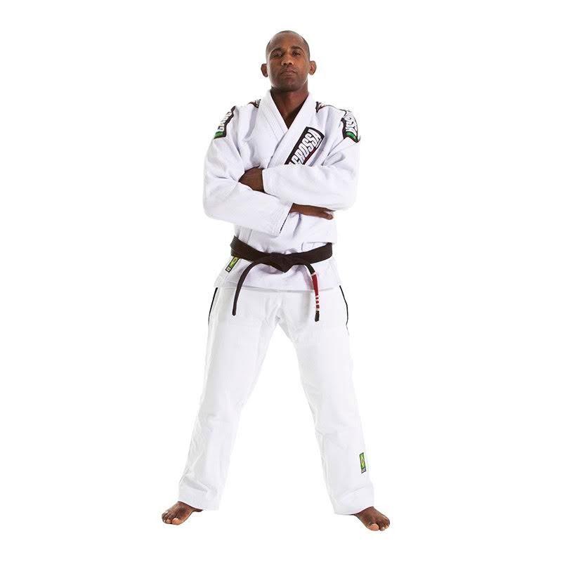 Kimono  Jiu Jitsu Cascagrossa CgBjj Branco Adulto Unissex