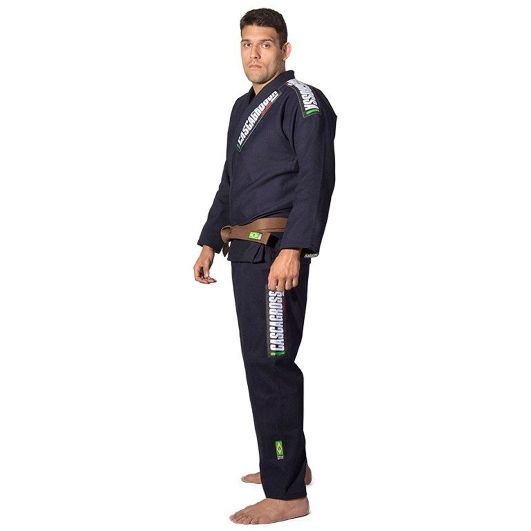 Kimono Jiu Jitsu Cascagrossa CgBjj Marinho Adulto Unissex