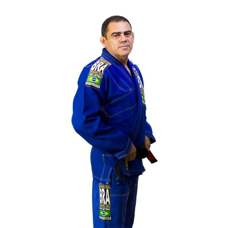 Kimono Jiu Jitsu Cascagrossa Seleção Azul Royal Adulto Unissex