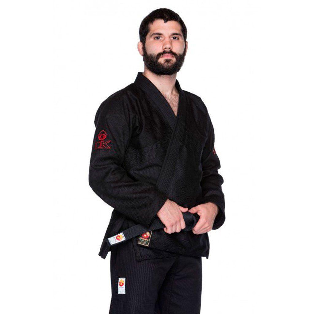 Kimono Jiu Jitsu Dragão DK Preto Adulto Unissex