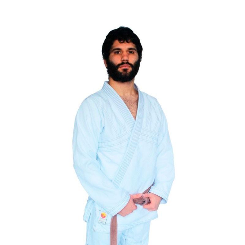 Kimono Jiu Jitsu Dragão Yuri Branco Adulto Unissex
