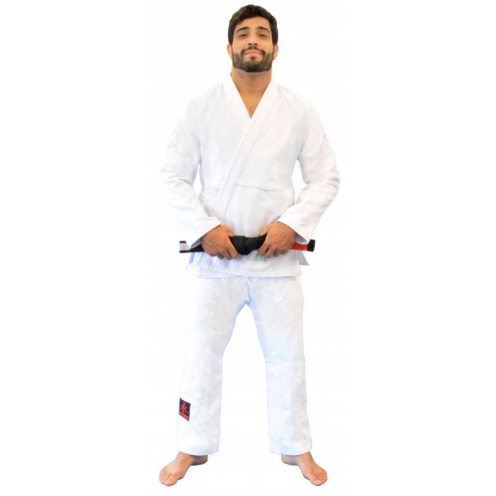 Kimono Jiu Jitsu Keiko Balance Branco Adulto Unissex