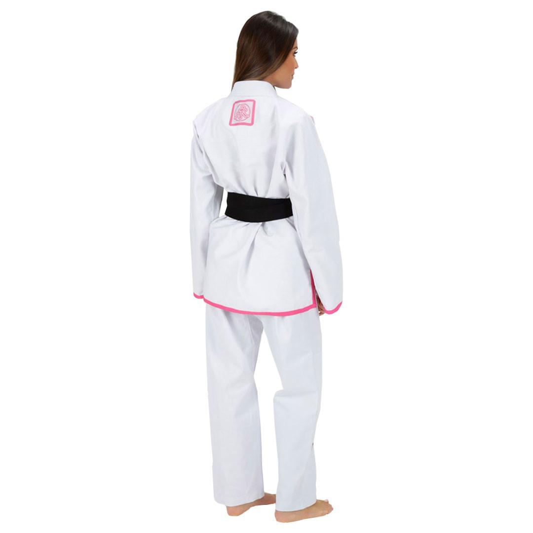 Kimono Jiu Jitsu Keiko Limitada Branco Feminino