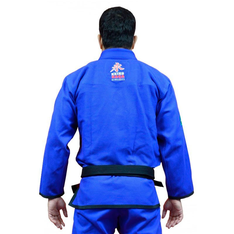 Kimono Jiu Jitsu Keiko Série Limitada Azul Adulto Unissex
