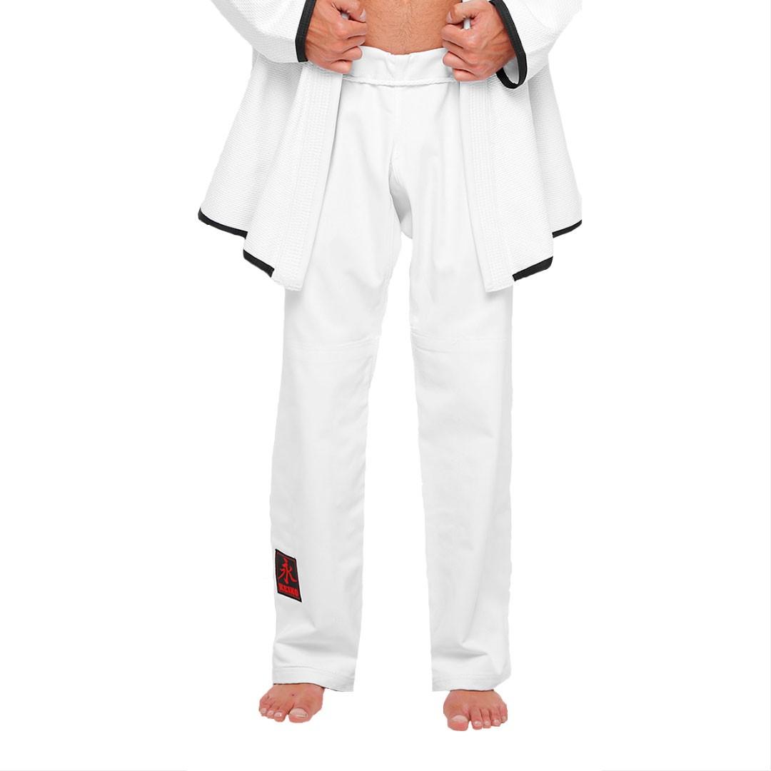 Kimono Jiu Jitsu Keiko Série Limitada Branco Adulto Unissex