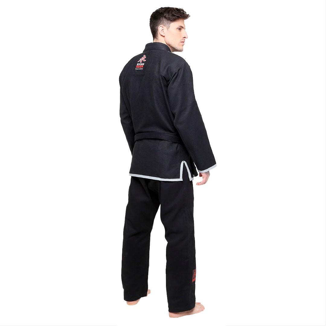 Kimono Jiu Jitsu Keiko Série Limitada Preto Adulto Unissex