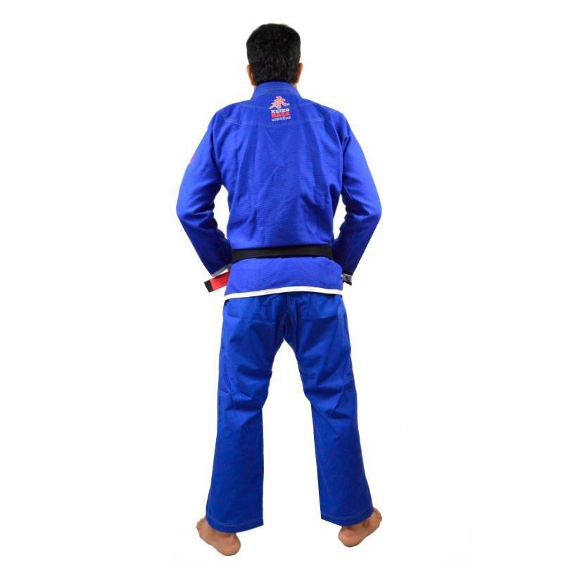 Kimono Jiu Jitsu Keiko Slim Fit Azul Adulto Unissex