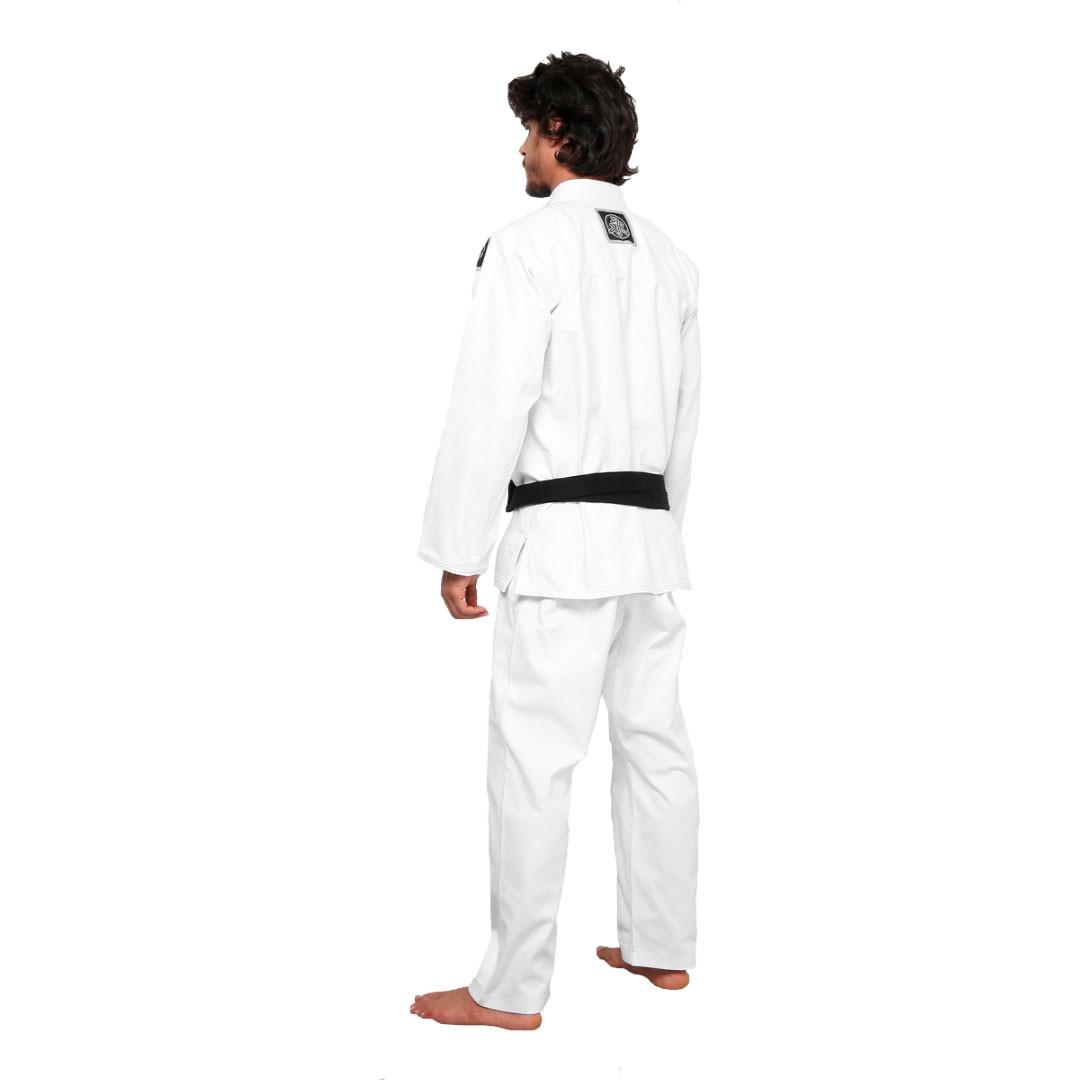 Kimono Jiu Jitsu Keiko Summer Branco Adulto Unissex