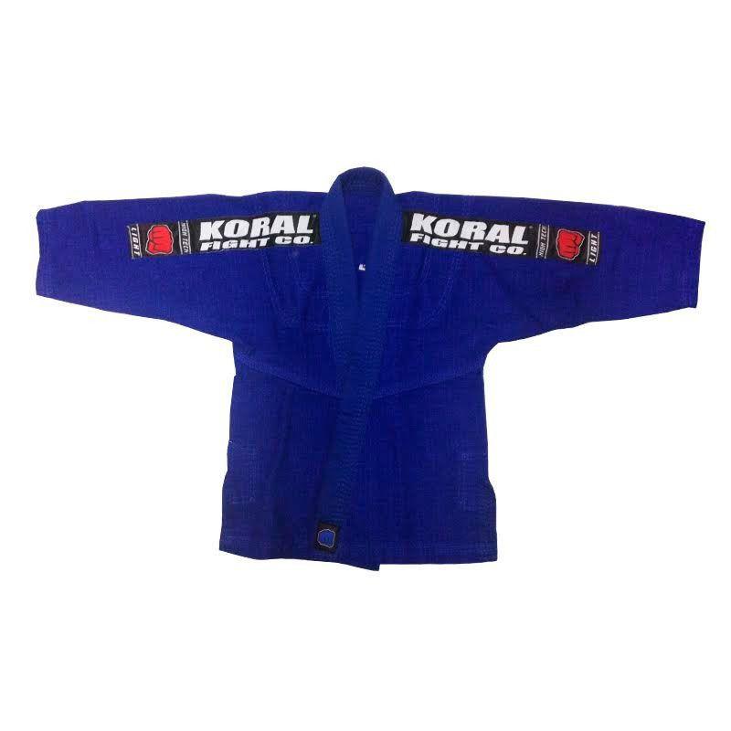 Kimono Jiu Jitsu Koral kids Light Azul Infantil