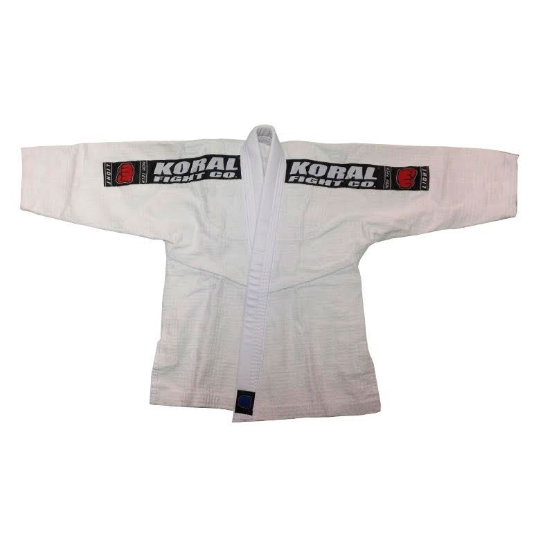 Kimono Jiu Jitsu Koral Kids Light Branco Infantil