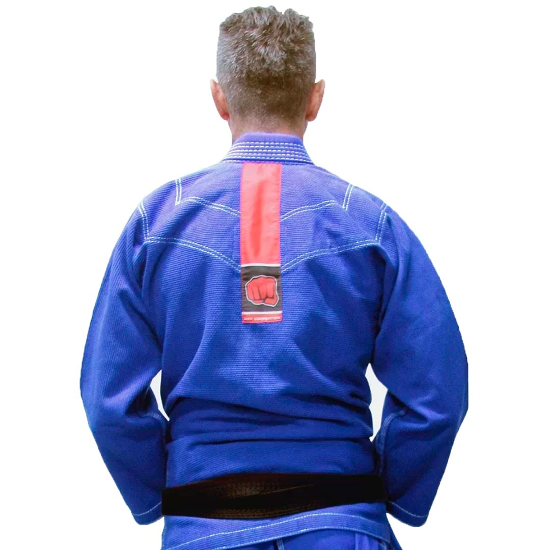 Kimono Jiu Jitsu koral MKM Competition 18 Azul Royal Adulto Unissex