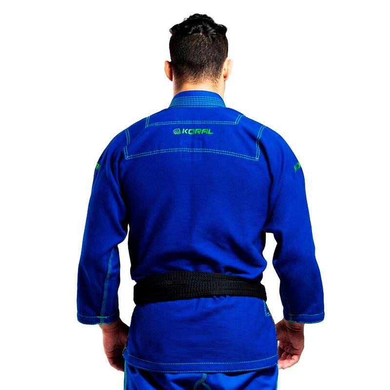 Kimono Jiu Jitsu Koral Original Ultra Light Azul Royal Adulto Unissex