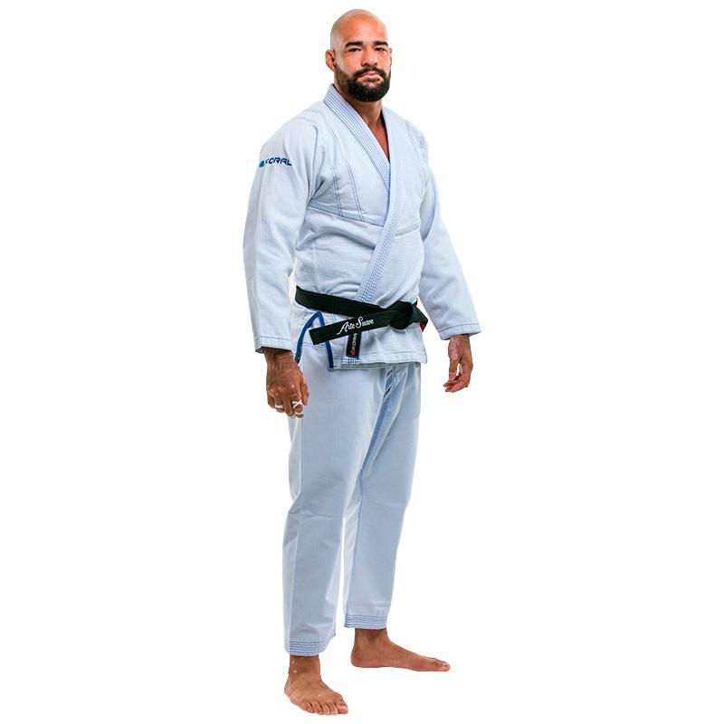 Kimono Jiu Jitsu Koral Ultra Light Branco Adulto Unissex