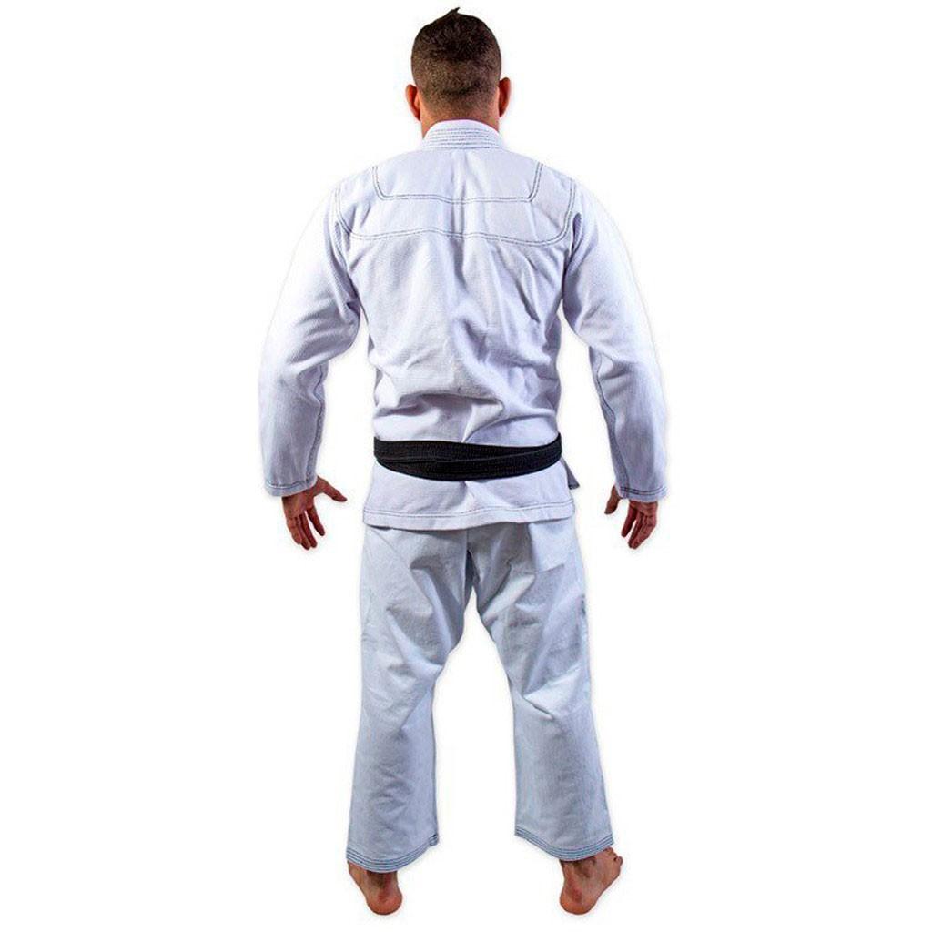 Kimono Jiu Jitsu Kvra Bjj Style Branco Adulto Unissex