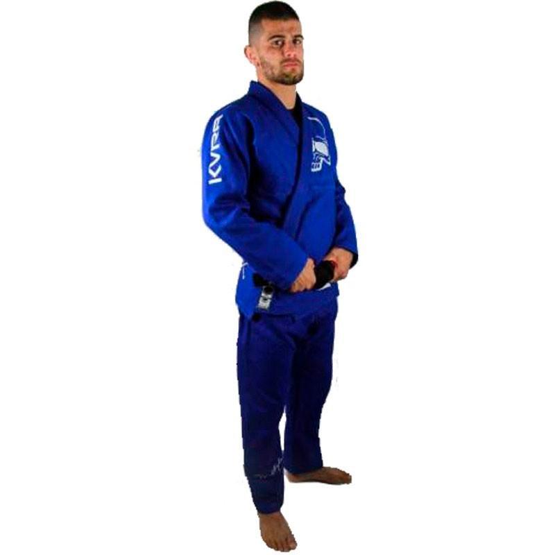 Kimono Jiu Jitsu Kvra Future Azul Adulto Unissex