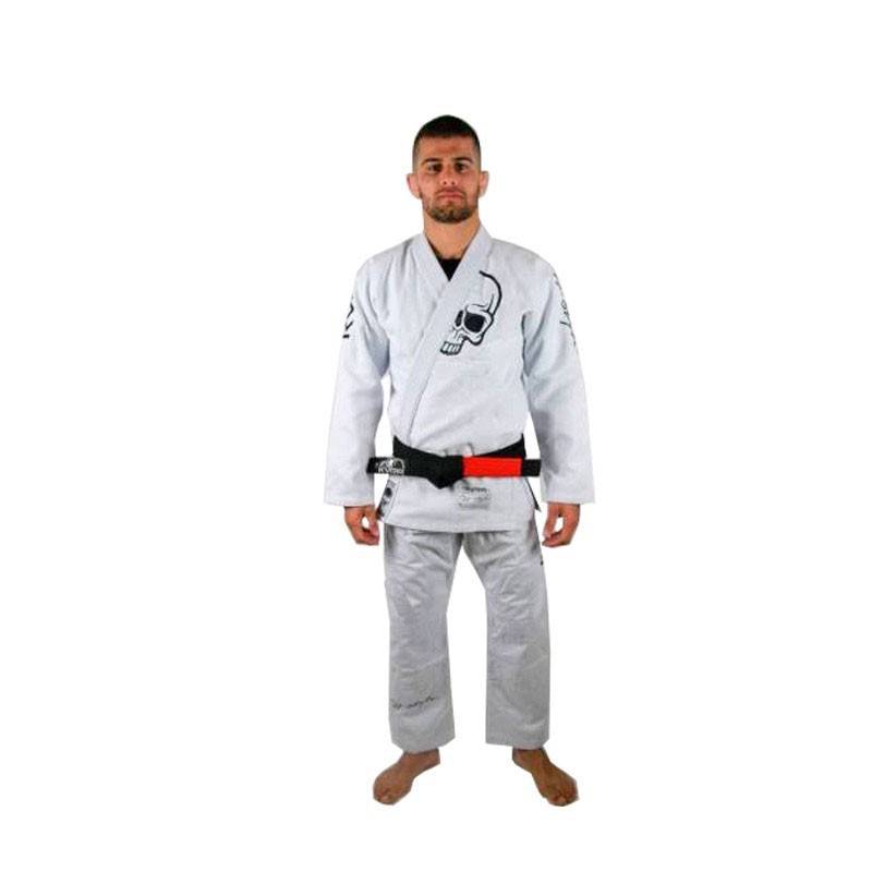 Kimono Jiu Jitsu Kvra Future Branco Adulto Unissex