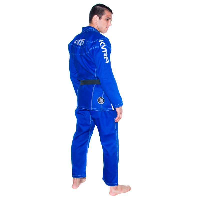 Kimono Jiu Jitsu Kvra Reload Azul Adulto Unissex