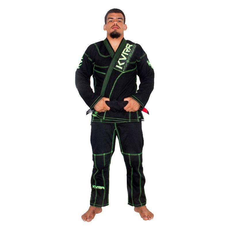 Kimono Jiu Jitsu Kvra Reload Preto Adulto Unissex