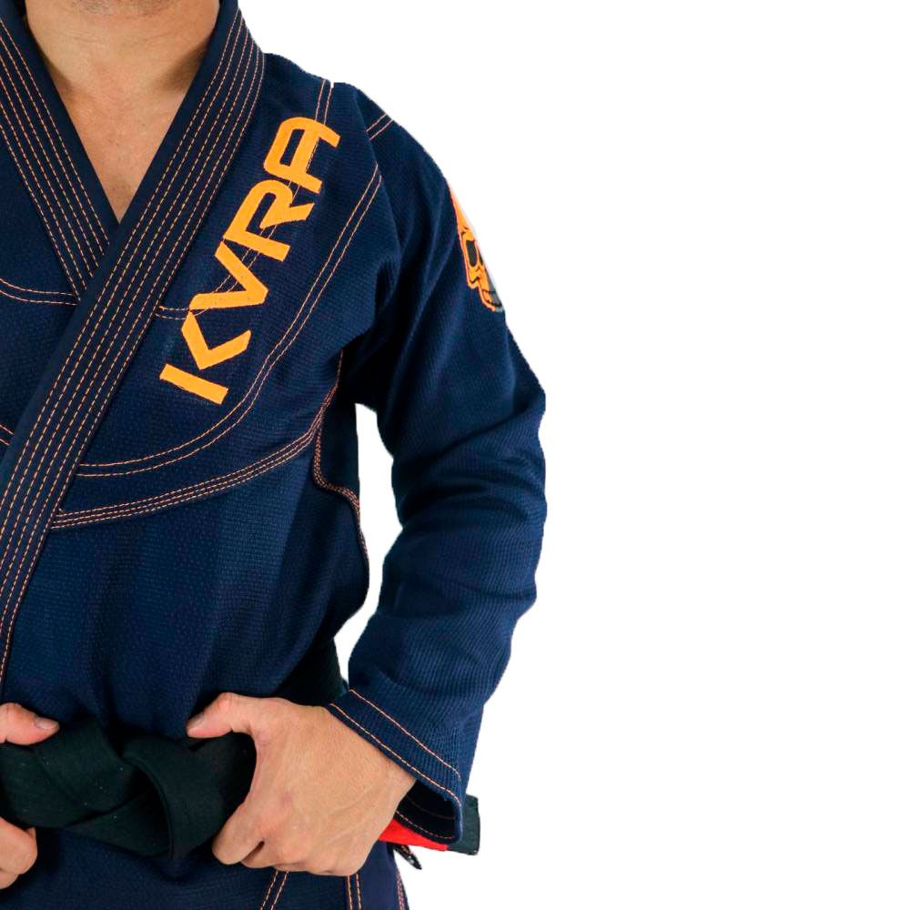 Kimono Jiu Jitsu Kvra Shadow Marinho Adulto Unissex