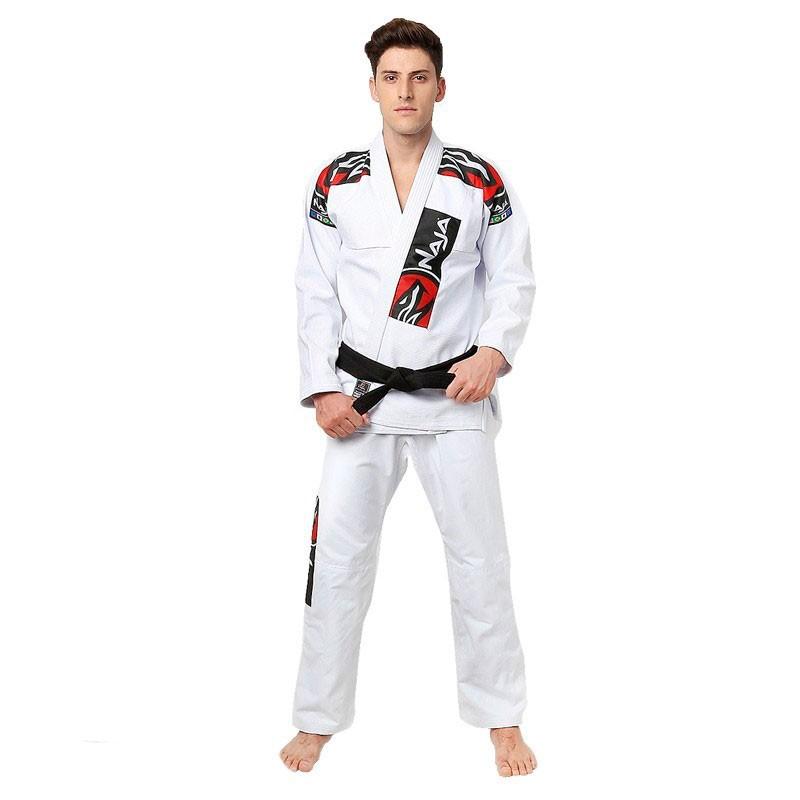 Kimono Jiu Jitsu Naja Extreme Branco Adulto Unissex