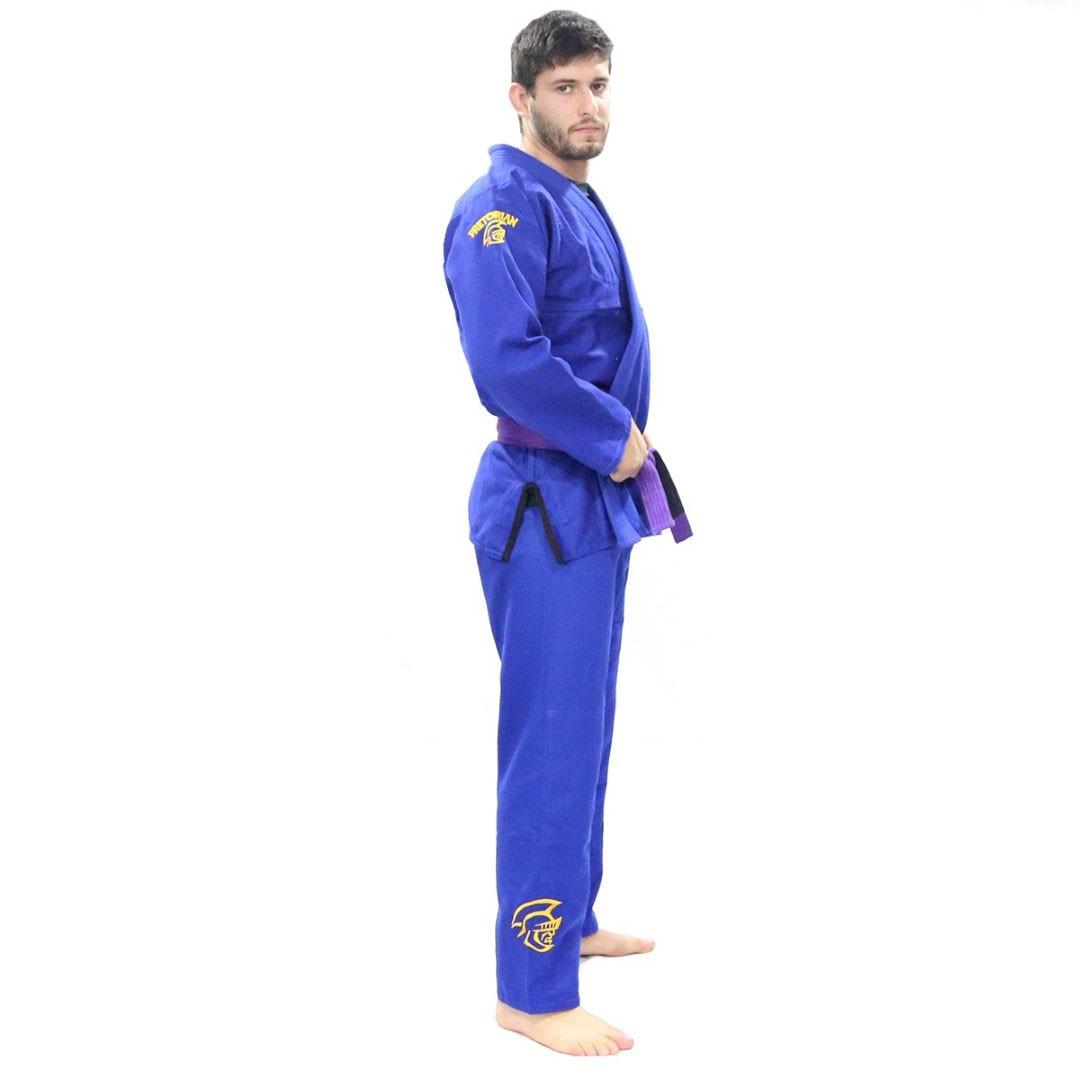 Kimono Jiu Jitsu Pretorian Elite Training Azul Royal Adulto Unissex
