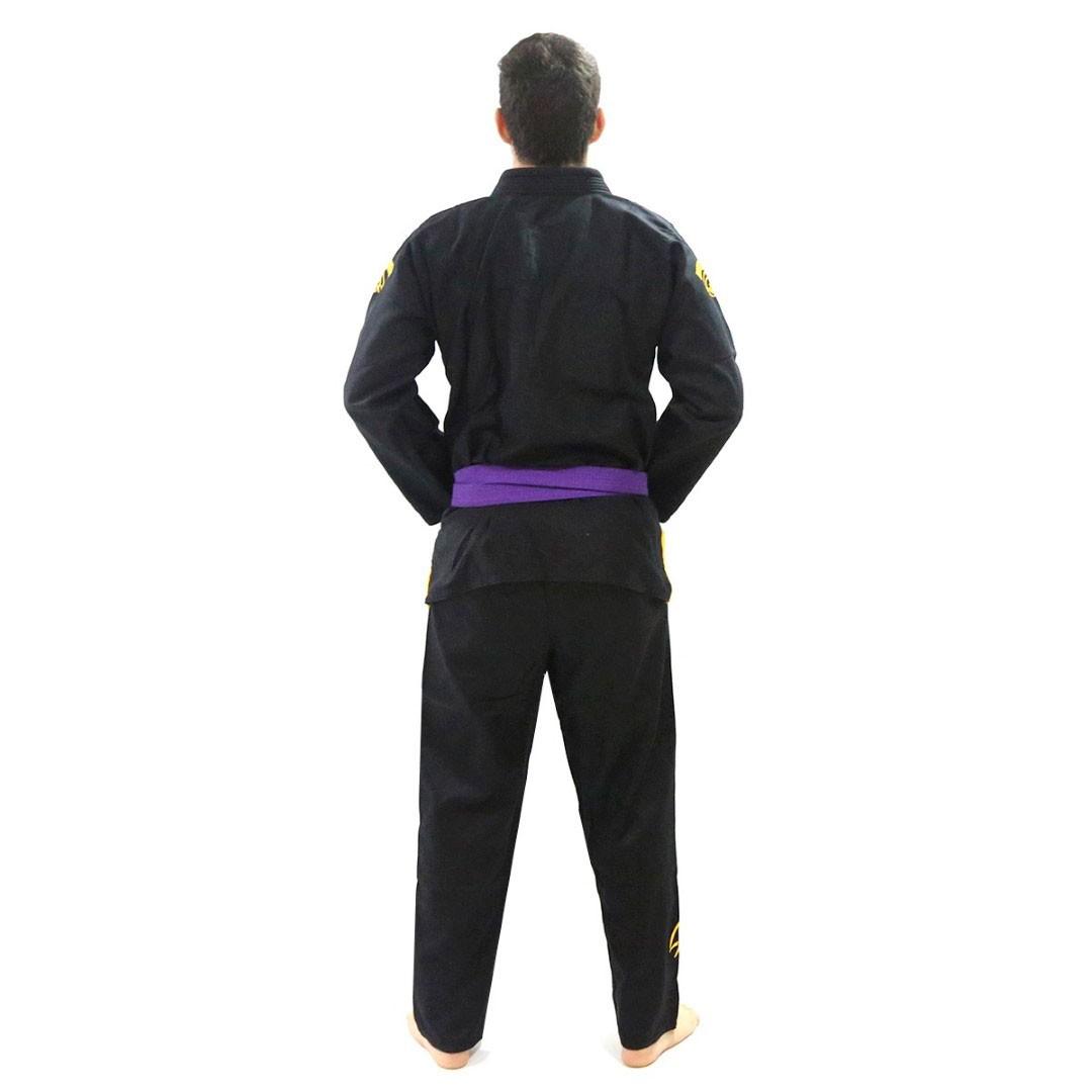 Kimono Jiu Jitsu Pretorian Elite Training Preto Adulto Unissex