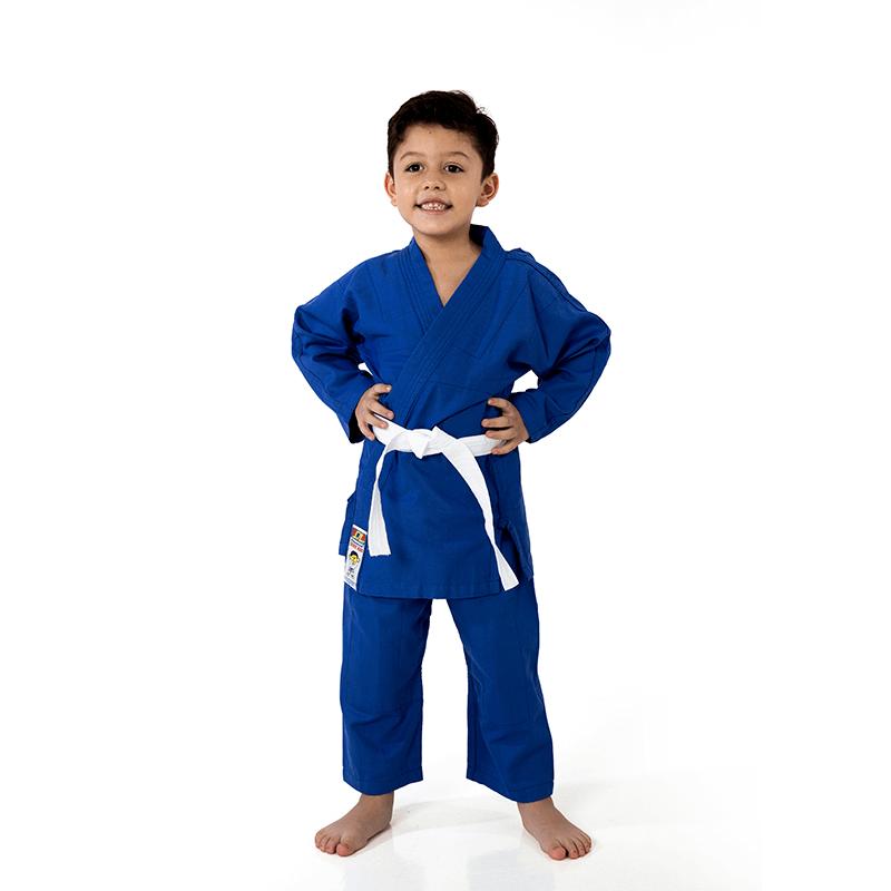 Kimono Jiu Jitsu Shihan Kids Azul Infantil