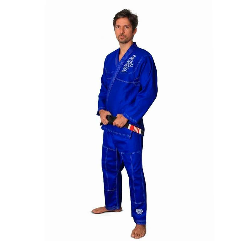 Kimono Jiu Jitsu Venum Competidor Brasil Azul Adulto Unissex