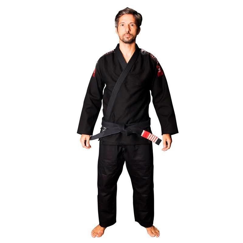 Kimono Jiu Jitsu Venum Super Light Preto Adulto Unissex